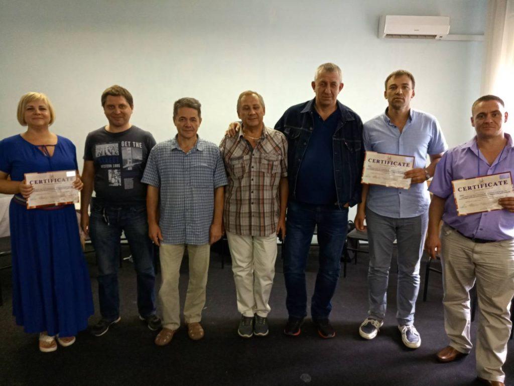 Команда РЦ Шанс на обучении в Одессе