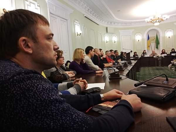 заседание координационного совета Харьковского горсовета по наркополитике в Харькове
