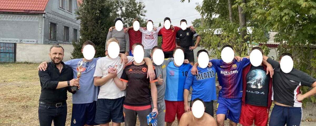 Футбольный матч РЦ Атмосфера в Харькове